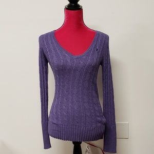 American Eagle Outfitters Purple Sweater